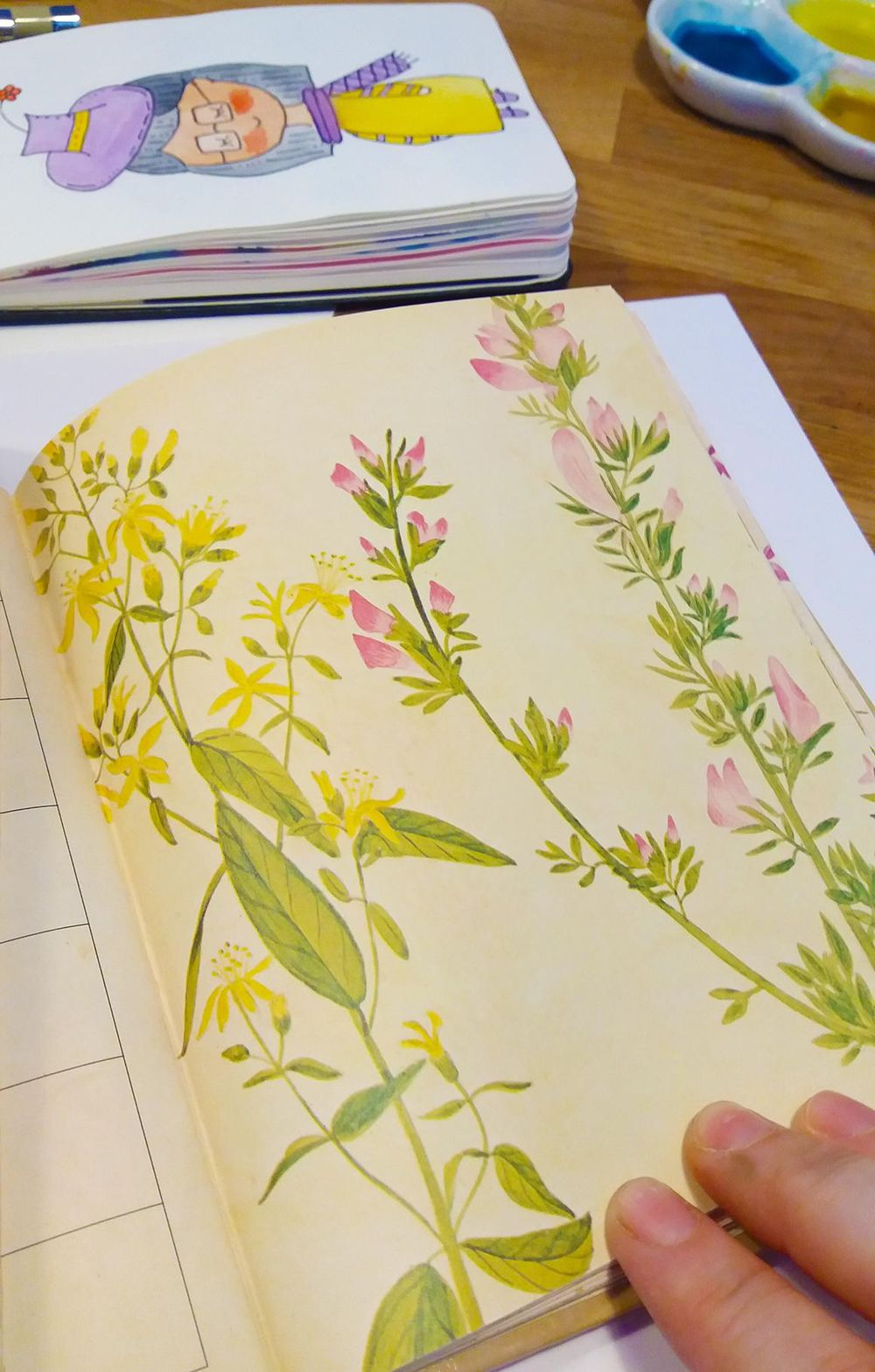 Workshop Project: Watercolor and Floral Illustrations and Final Project Prompts - image 18 - student project