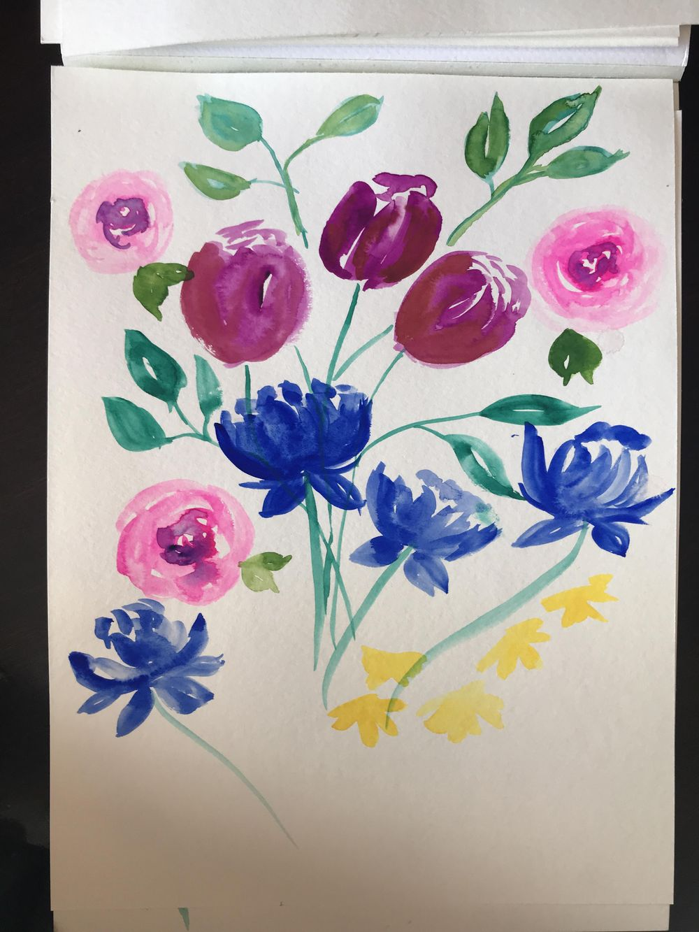 Fun with Loose Florals - image 1 - student project