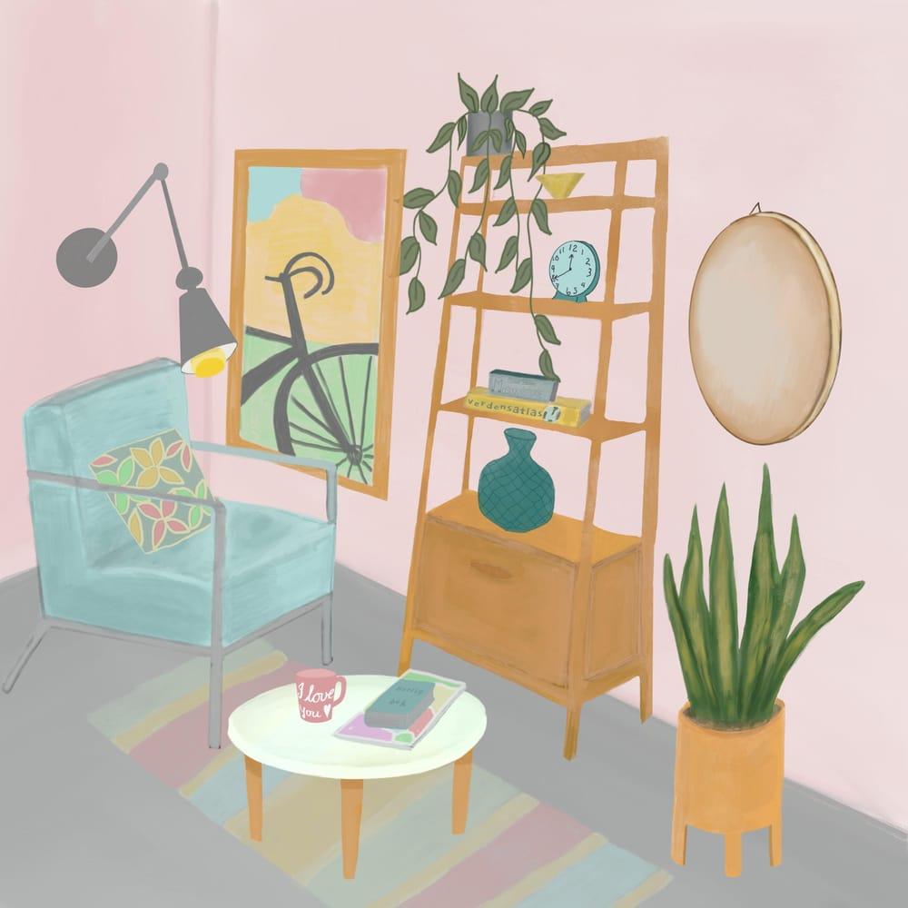 Chill corner - image 1 - student project