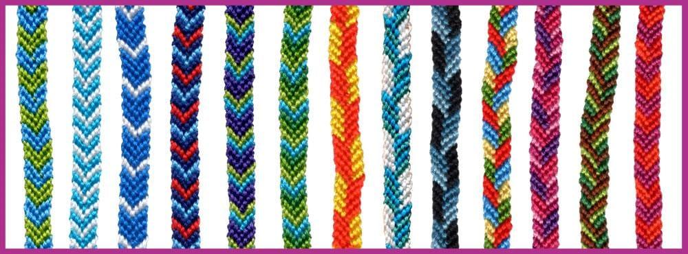 My Chevron Friendship Bracelet Project - image 2 - student project