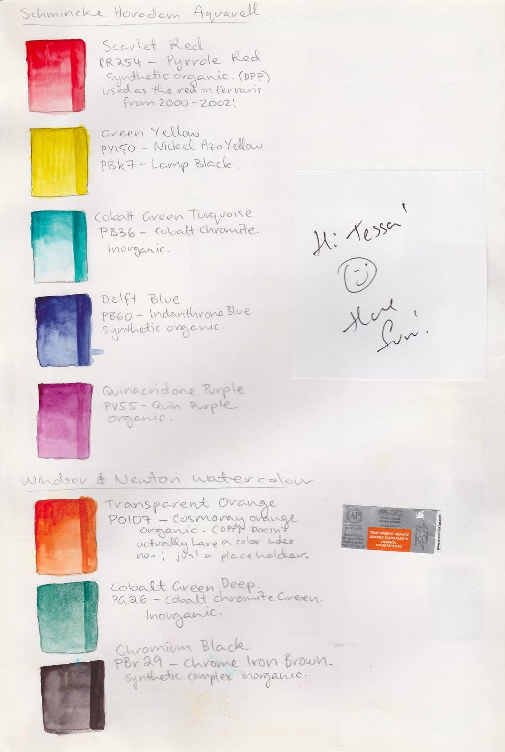 Various watercolours - image 6 - student project