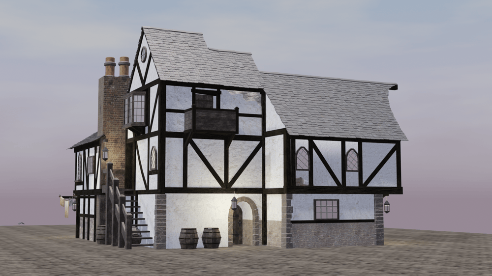 Medieval inn - image 2 - student project