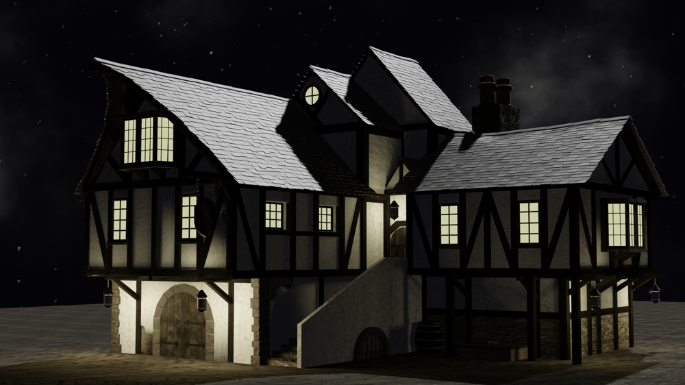 Medieval inn - image 3 - student project