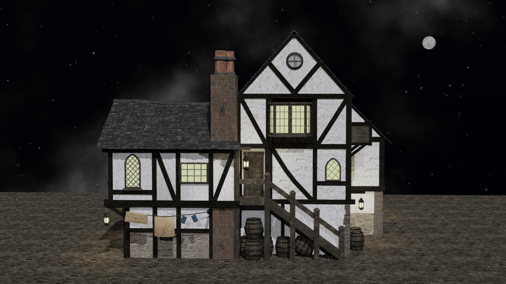 Medieval inn - image 4 - student project