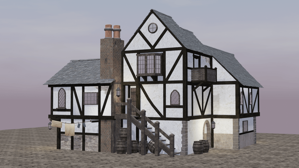 Medieval inn - image 1 - student project