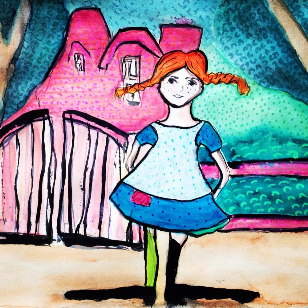 Pippi Longstocking - image 1 - student project