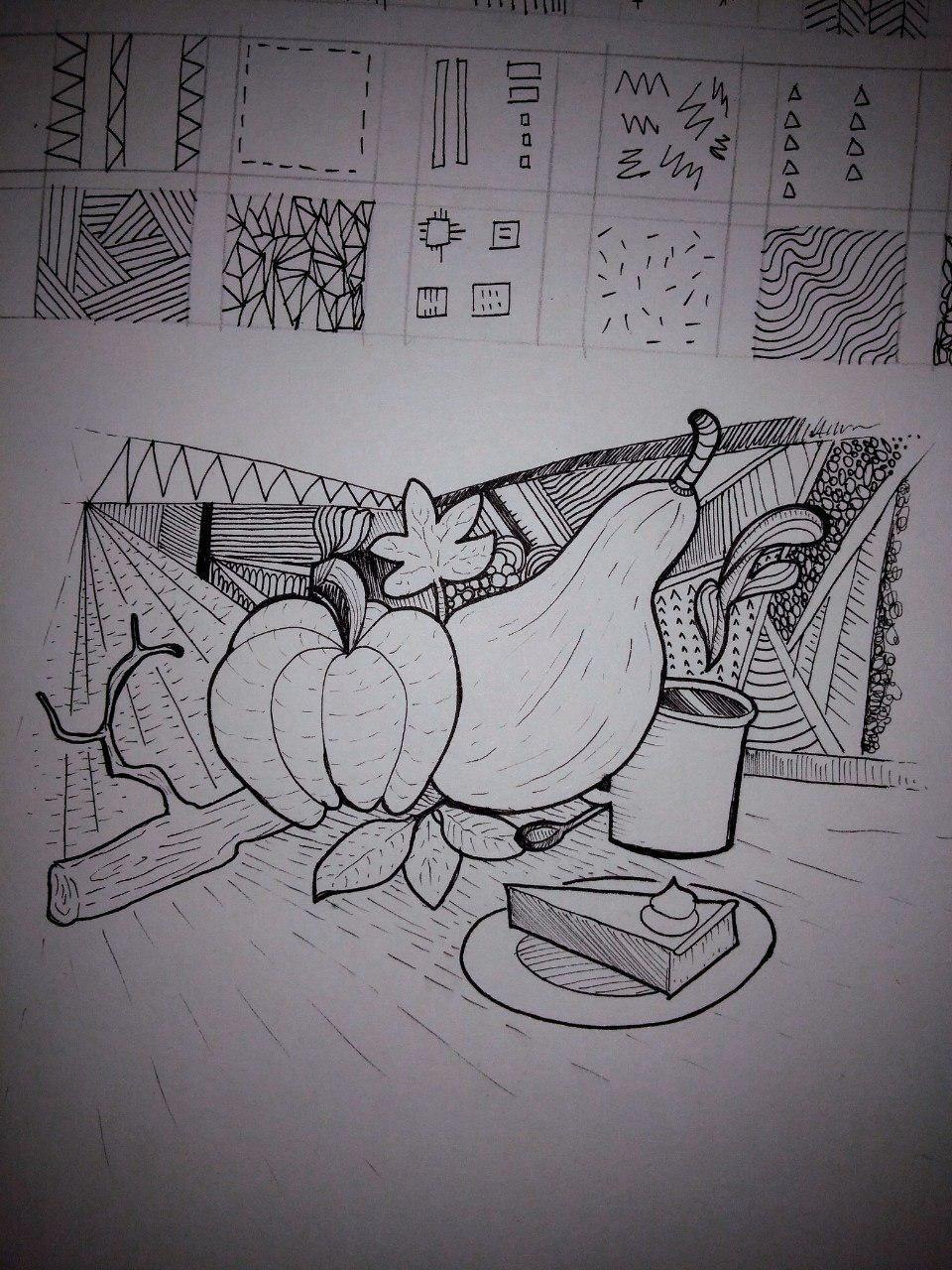Autumn doodle - image 1 - student project