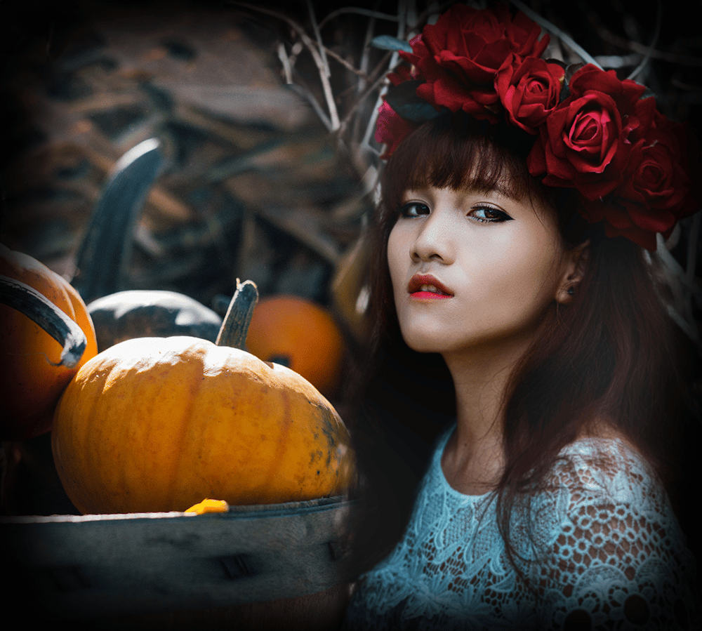 Girl with Roses - image 1 - student project