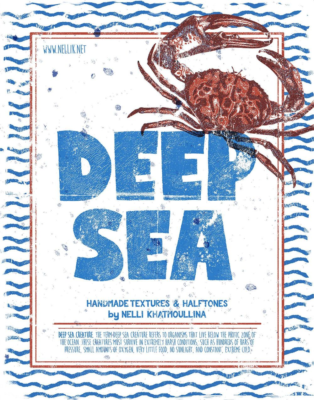 Deep Sea True Grid Poster - image 5 - student project