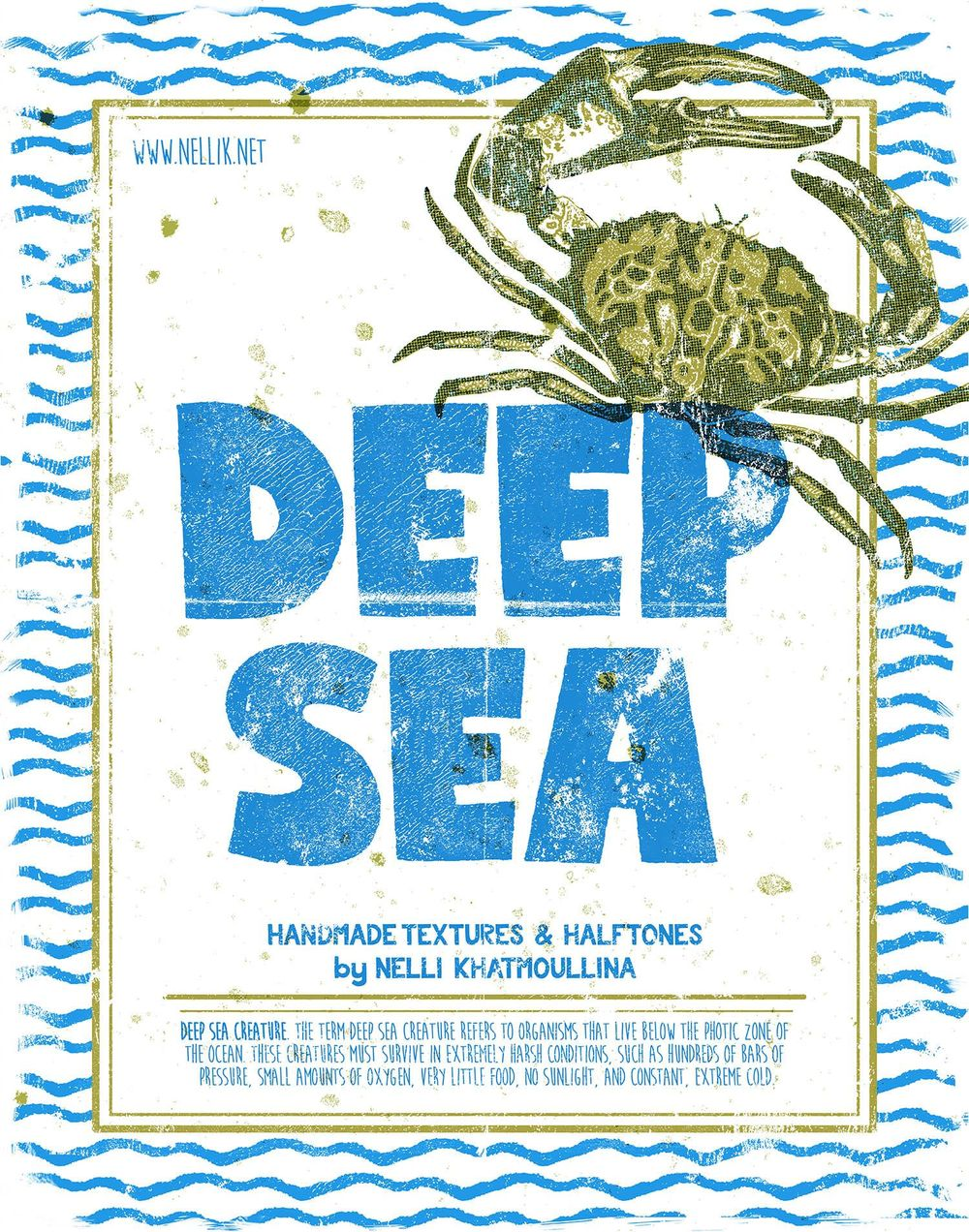 Deep Sea True Grid Poster - image 6 - student project