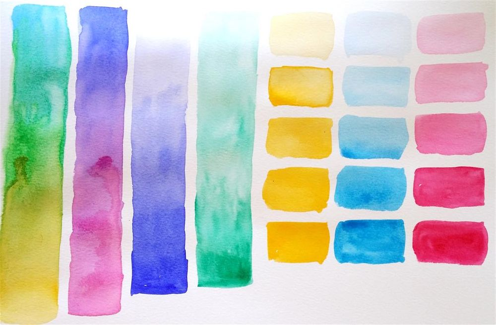 Starting Watercolours - image 1 - student project