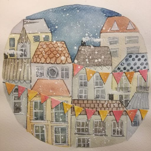 Winter Watercolours - image 1 - student project