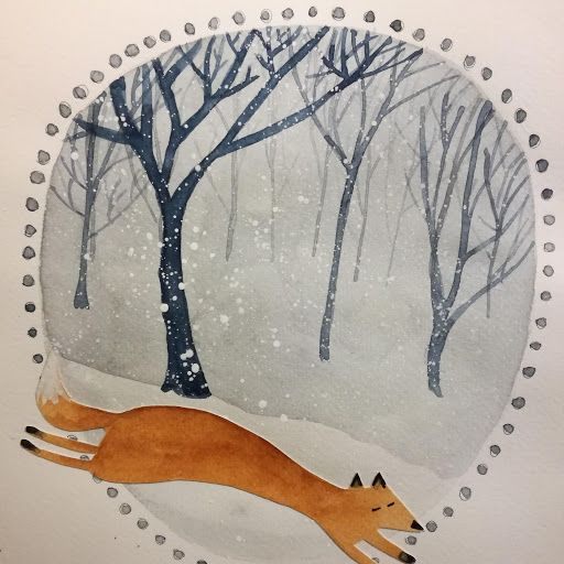 Winter Watercolours - image 2 - student project