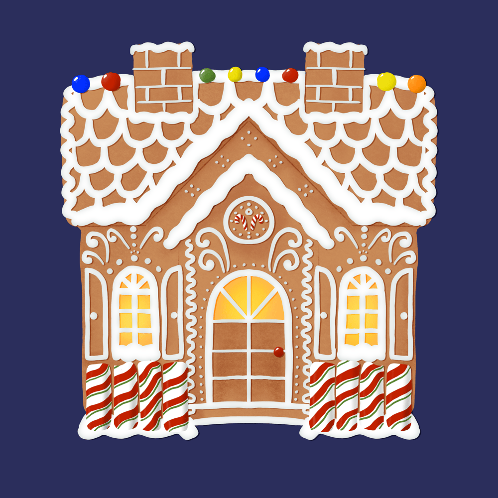 Gingerbread house - image 1 - student project