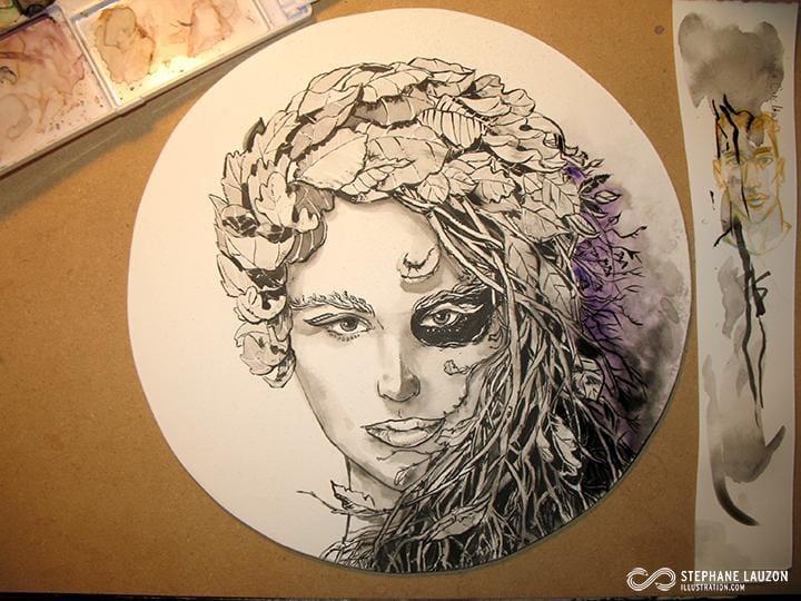 Slauz - Lady Autumn - image 2 - student project