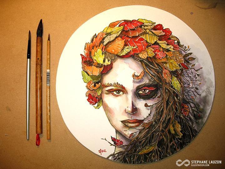 Slauz - Lady Autumn - image 3 - student project