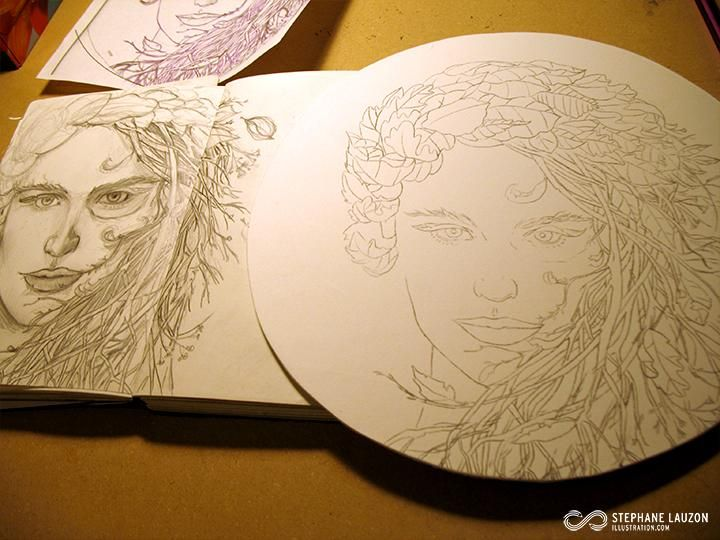 Slauz - Lady Autumn - image 1 - student project