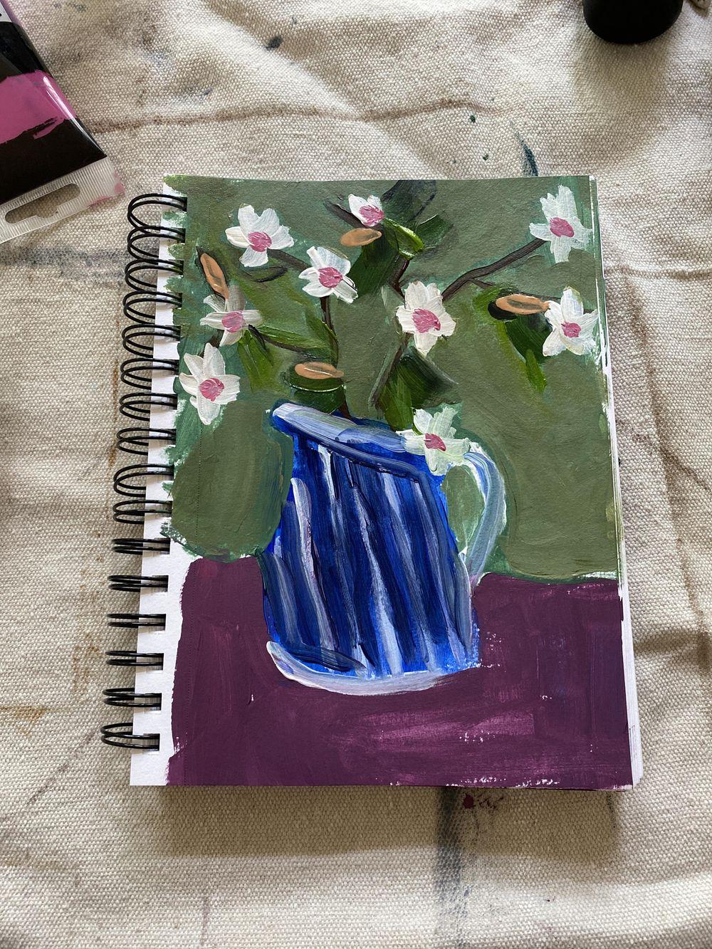 Blue Vase - image 1 - student project