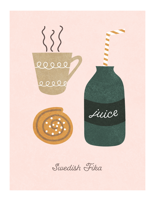 Swedish Fika (from sketch) - image 1 - student project