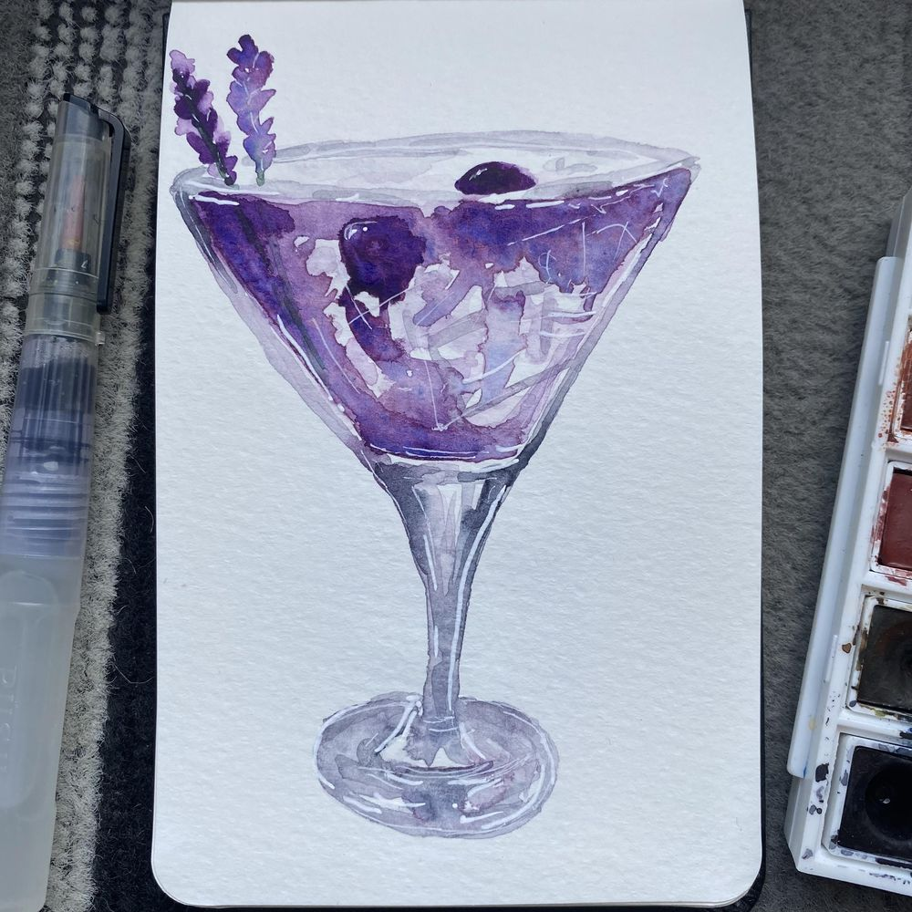 Mojito and pink gin cocktail - image 1 - student project