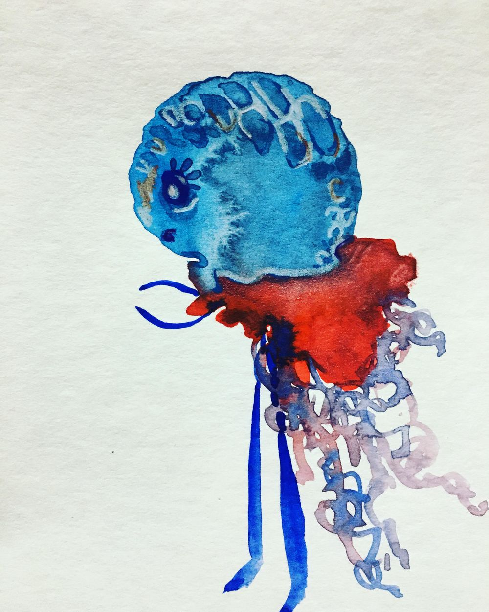 my blue friend - image 1 - student project
