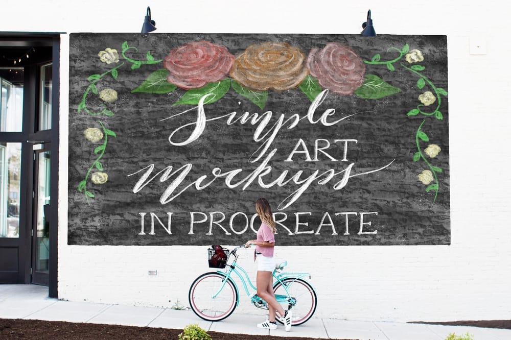 Simple Procreate Mockups - image 1 - student project