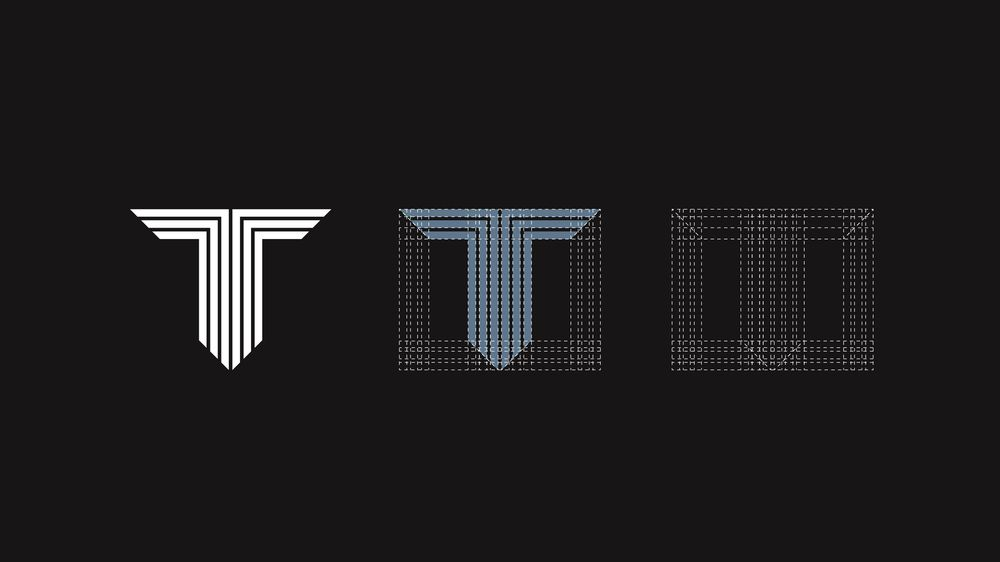 """Personal logo letter """"T"""" - image 2 - student project"""