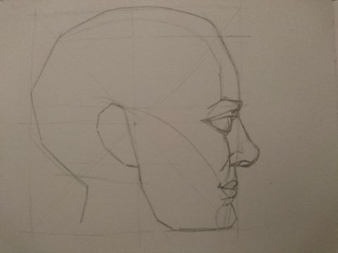 Head Profiles- Mark Hill - image 3 - student project