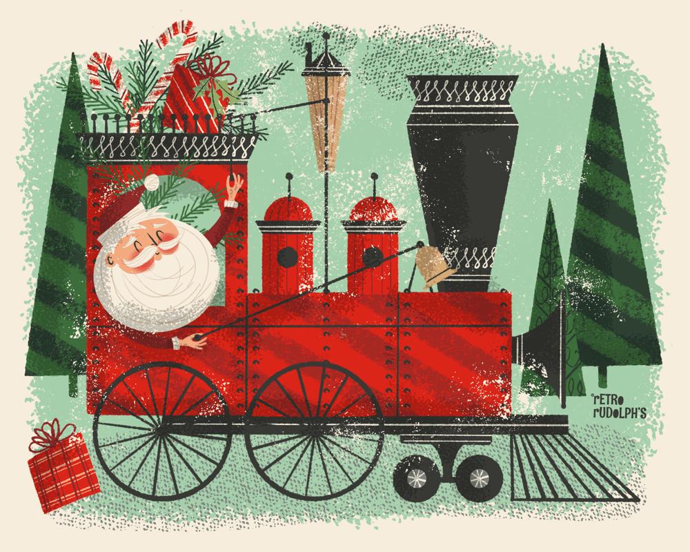 The Santa Train - image 1 - student project
