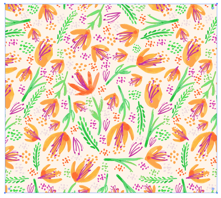 Organic Florals - image 3 - student project