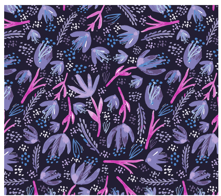 Organic Florals - image 5 - student project
