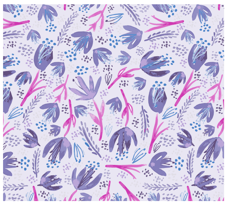 Organic Florals - image 4 - student project