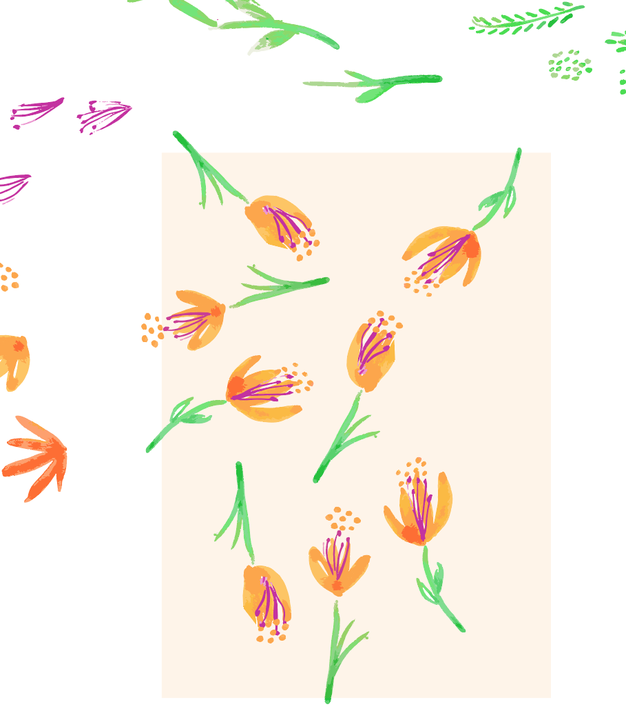 Organic Florals - image 2 - student project
