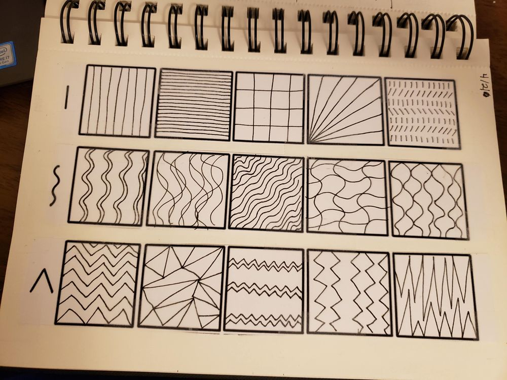 Doodles from Lines - image 2 - student project