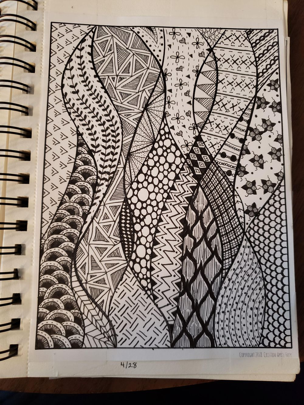 Doodles from Lines - image 6 - student project