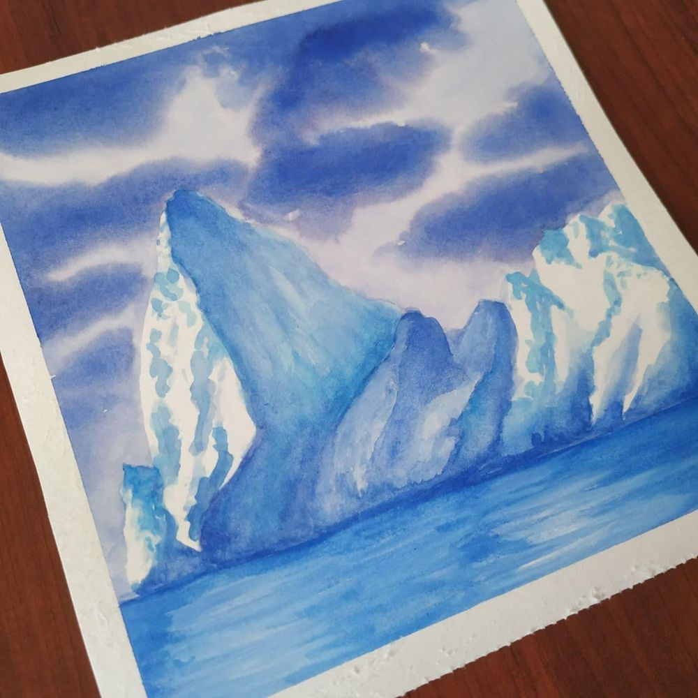 Iceberg - image 2 - student project