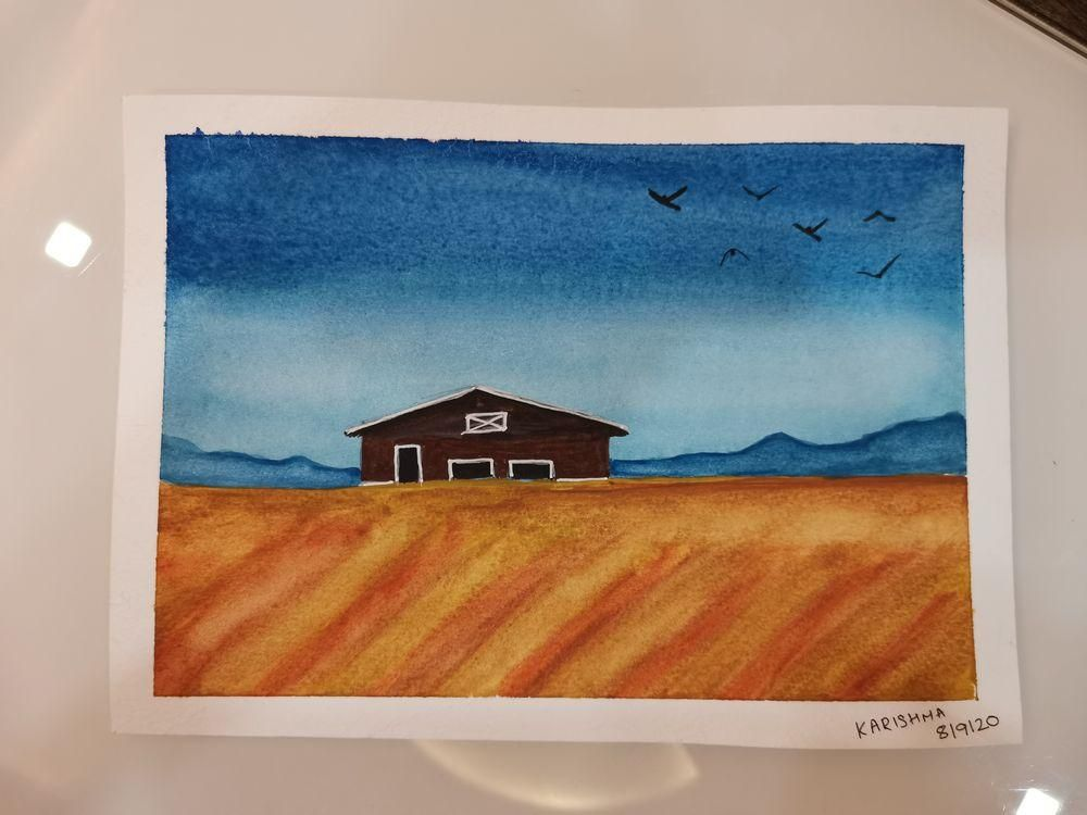 Watercolors for 30-day challenge, updated on 3-Feb-21 - image 7 - student project