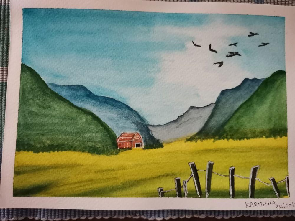 Watercolors for 30-day challenge, updated on 3-Feb-21 - image 9 - student project