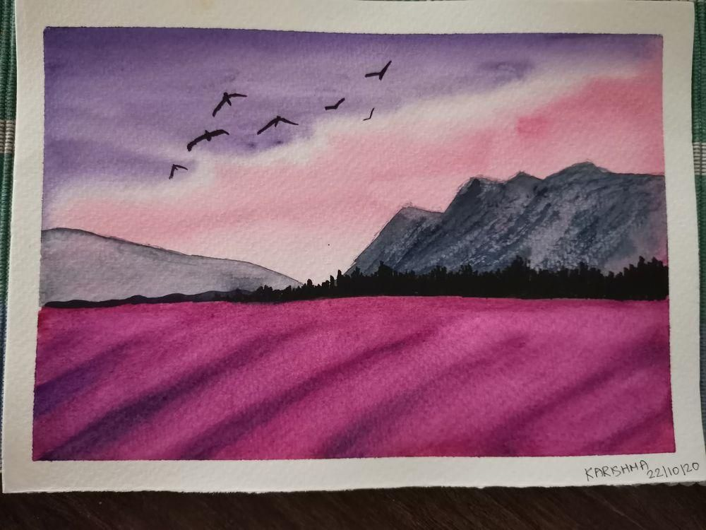 Watercolors for 30-day challenge, updated on 3-Feb-21 - image 8 - student project