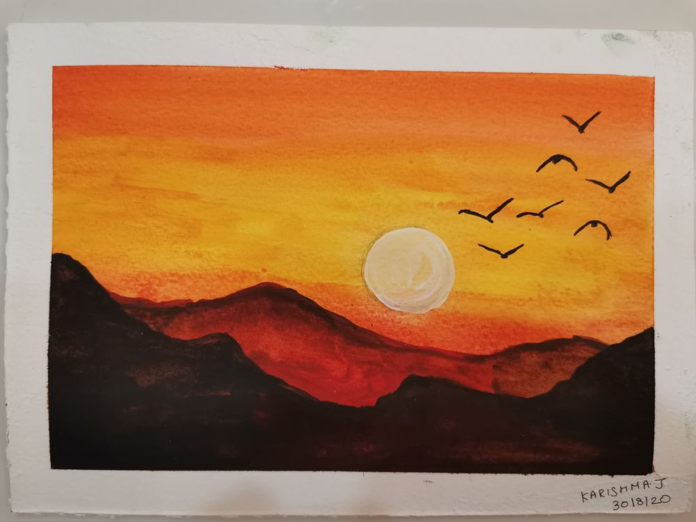 Watercolors for 30-day challenge, updated on 3-Feb-21 - image 2 - student project
