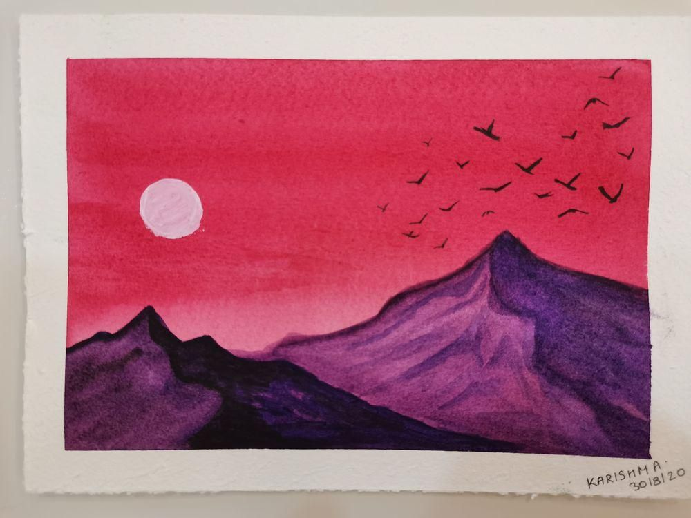Watercolors for 30-day challenge, updated on 3-Feb-21 - image 1 - student project