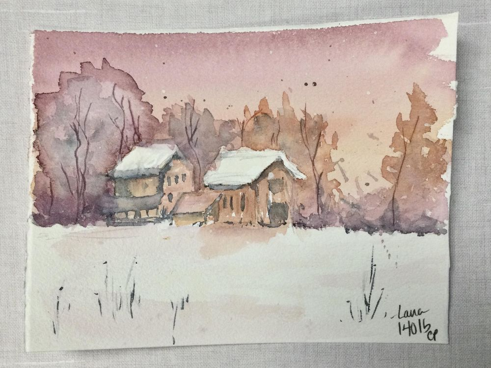 Moody winter scenes - image 2 - student project