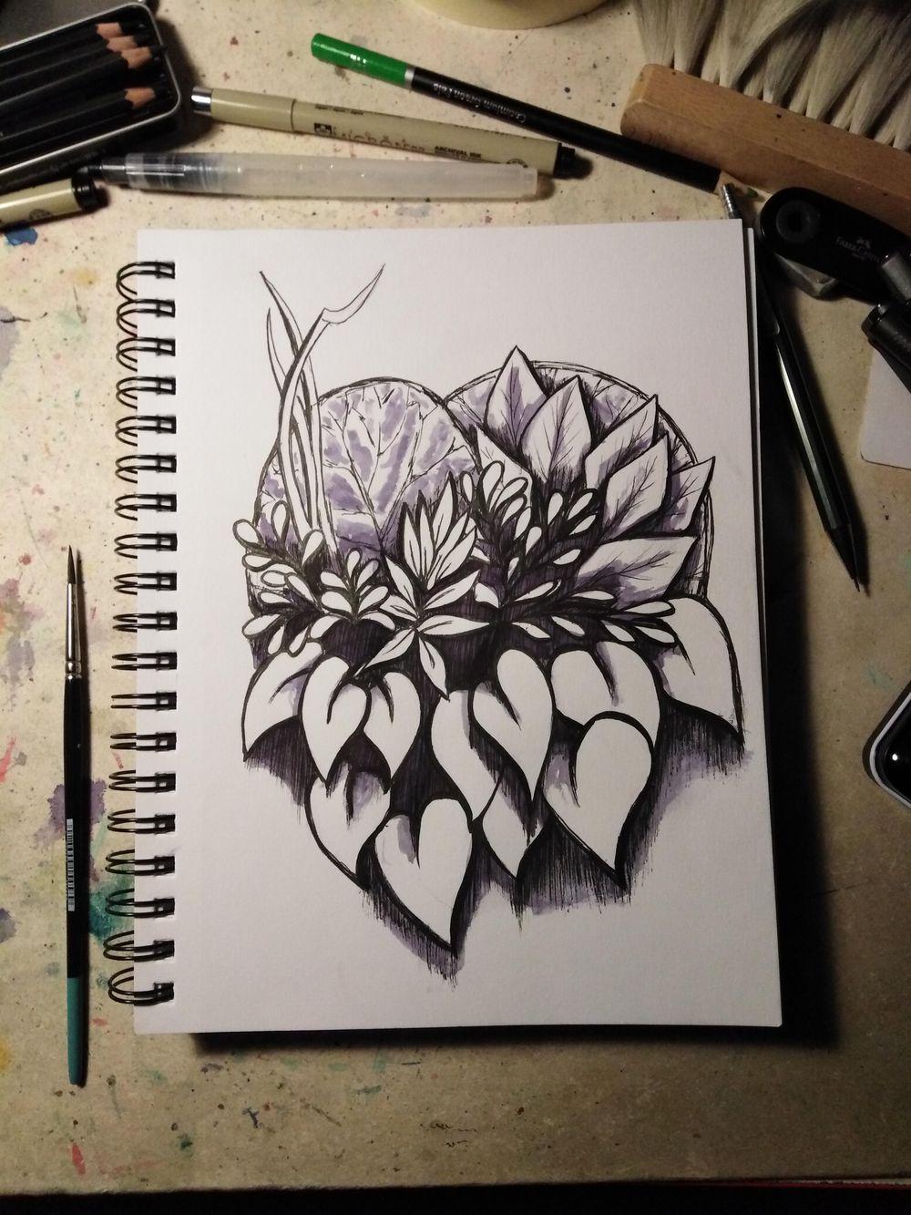 Flower Homework - image 1 - student project