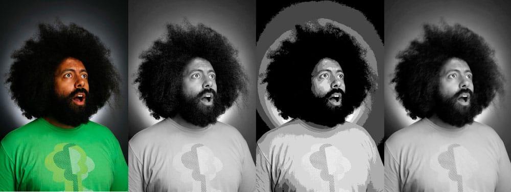 Reggie Watts Portrait - image 1 - student project