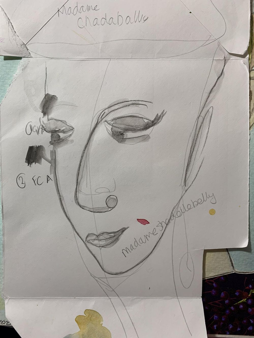 Draw a simple face - image 2 - student project