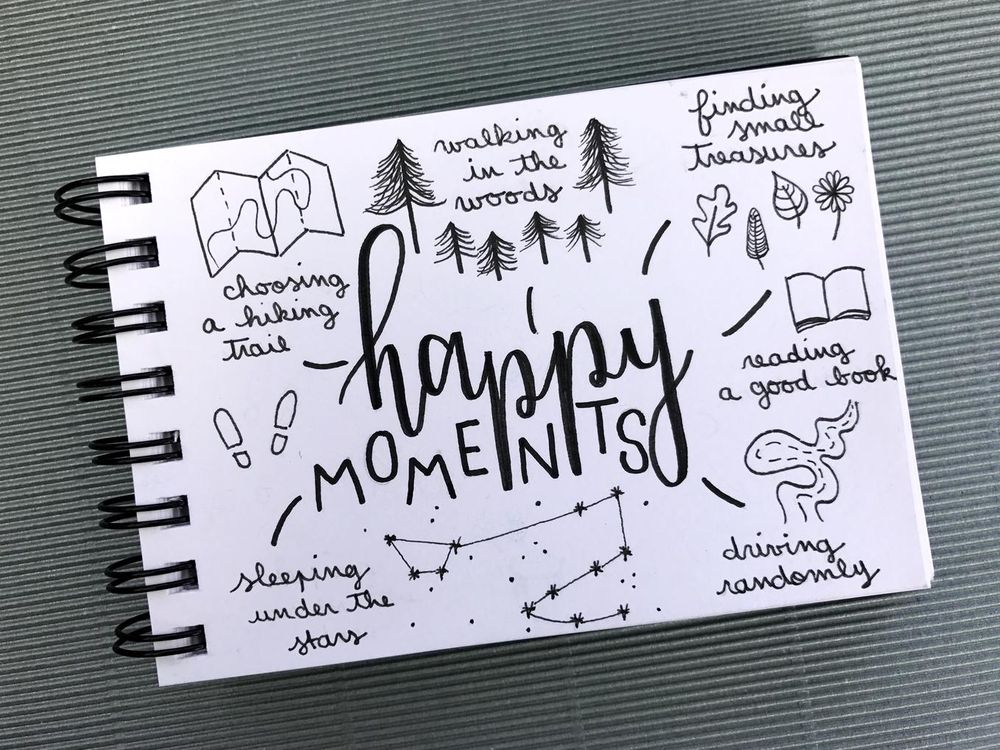 reflecting on happy moments - image 1 - student project