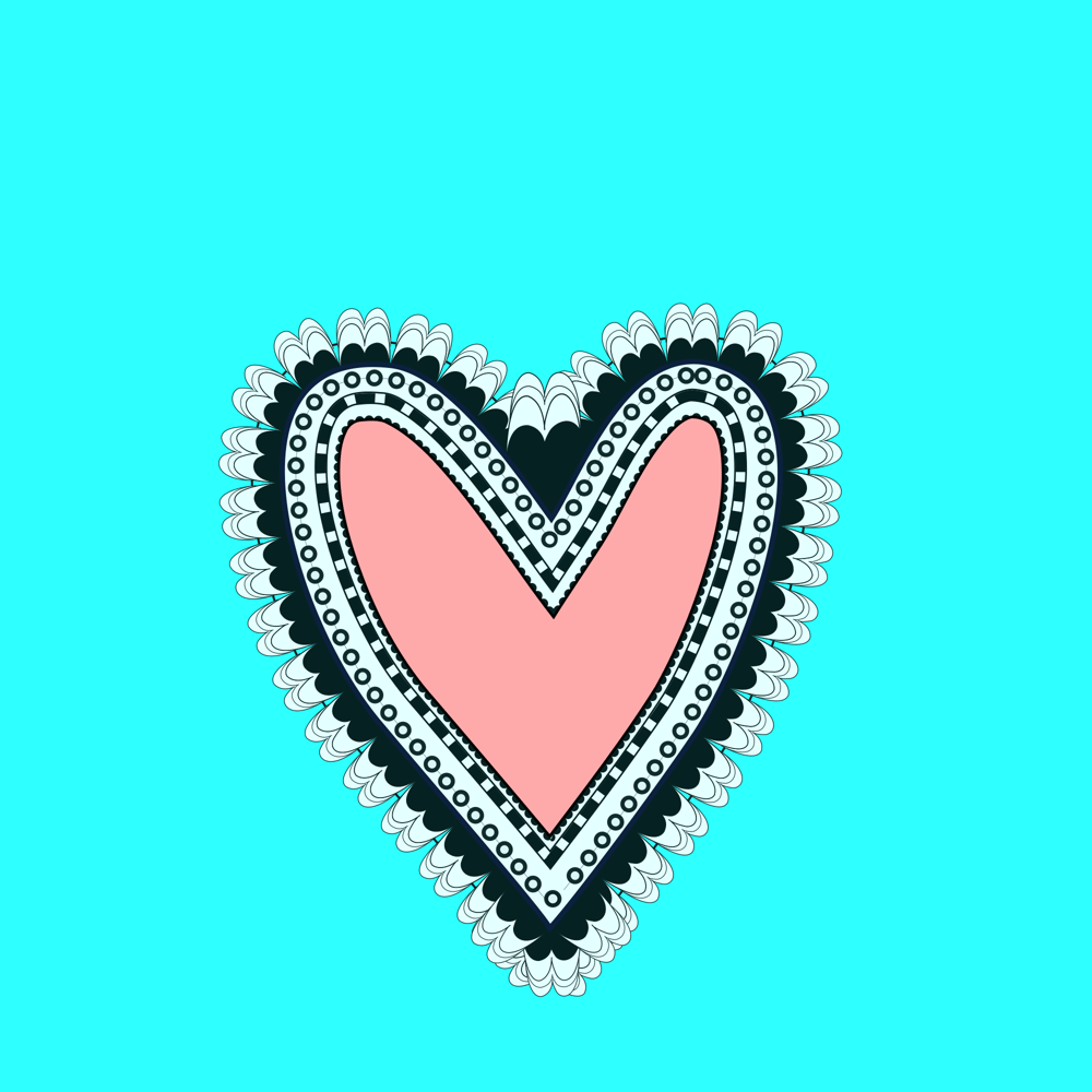 Inkscape Heart - image 1 - student project