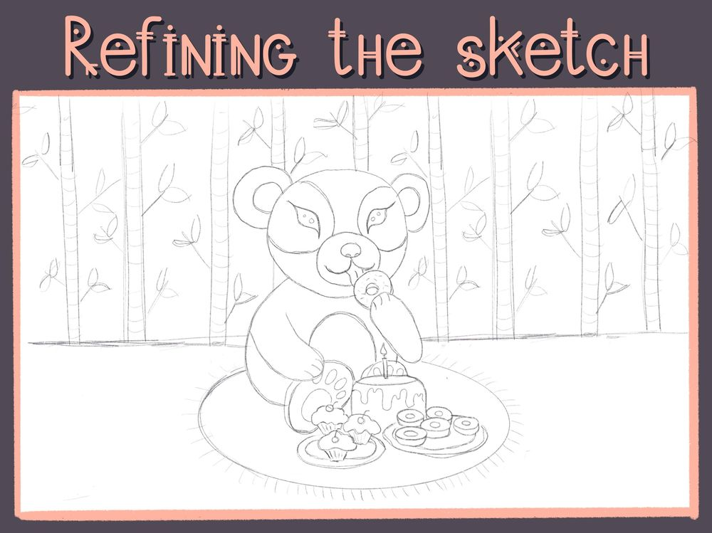 """This is my """"sweet"""" panda - image 3 - student project"""
