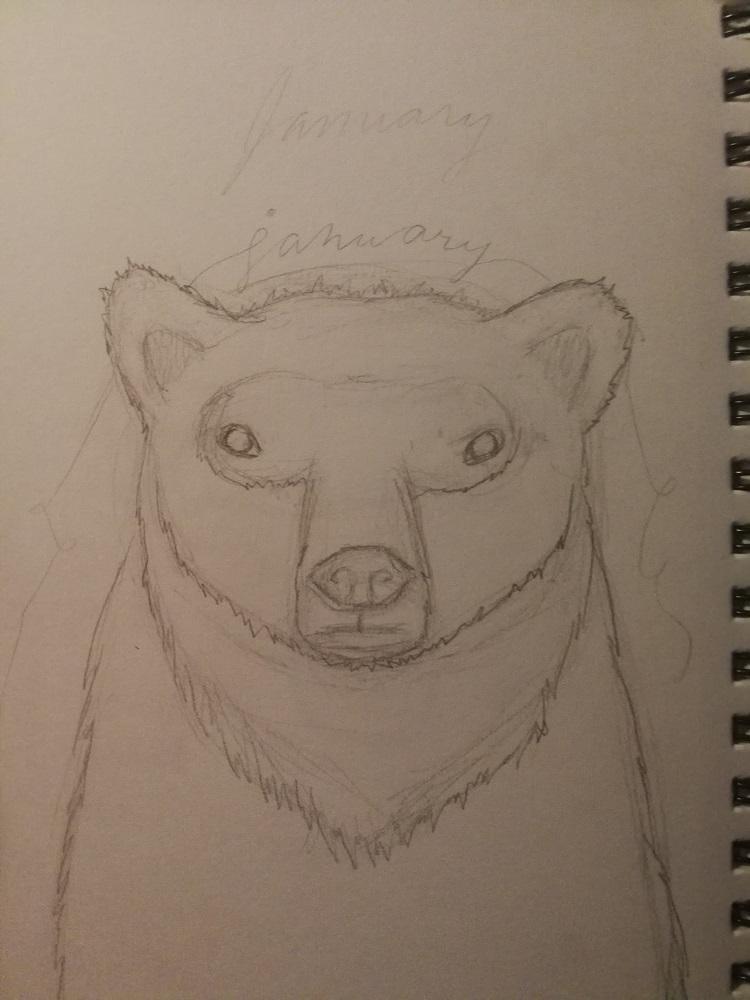 Polar Bear Illustration (I Wish It Was My Pet!) - image 2 - student project