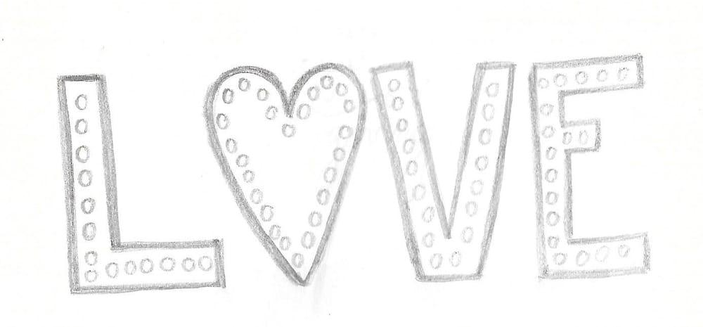 Valentine's Chalkboard - image 1 - student project